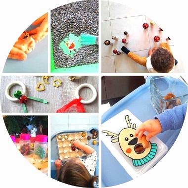 8 ateliers de Noël pour les jeunes enfants