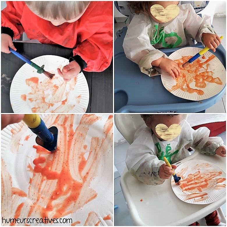 découverte de la peinture comestible aux épices