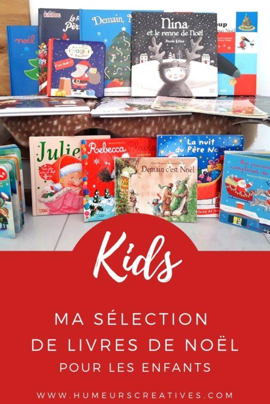 Sélection de livres de Noël pour enfants