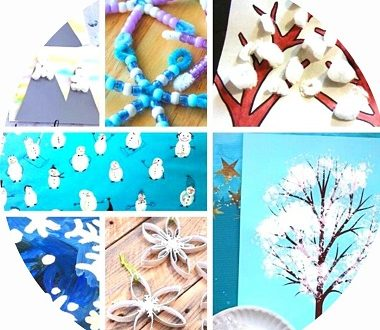 40 bricolages d'hiver pour les enfants