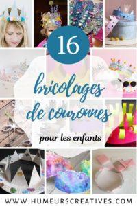 16 bricolages de couronnes à fabriquer avec les enfants