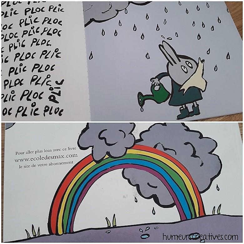 livre la graine arc en ciel pour les enfants