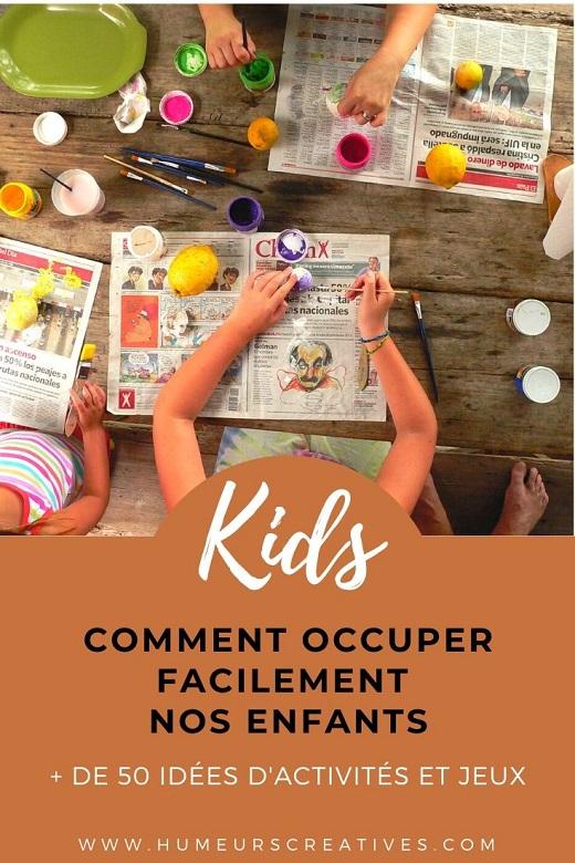 + de 50 idées d'activités et jeux pour enfants à faire à la maison avec des éléments du quotidien