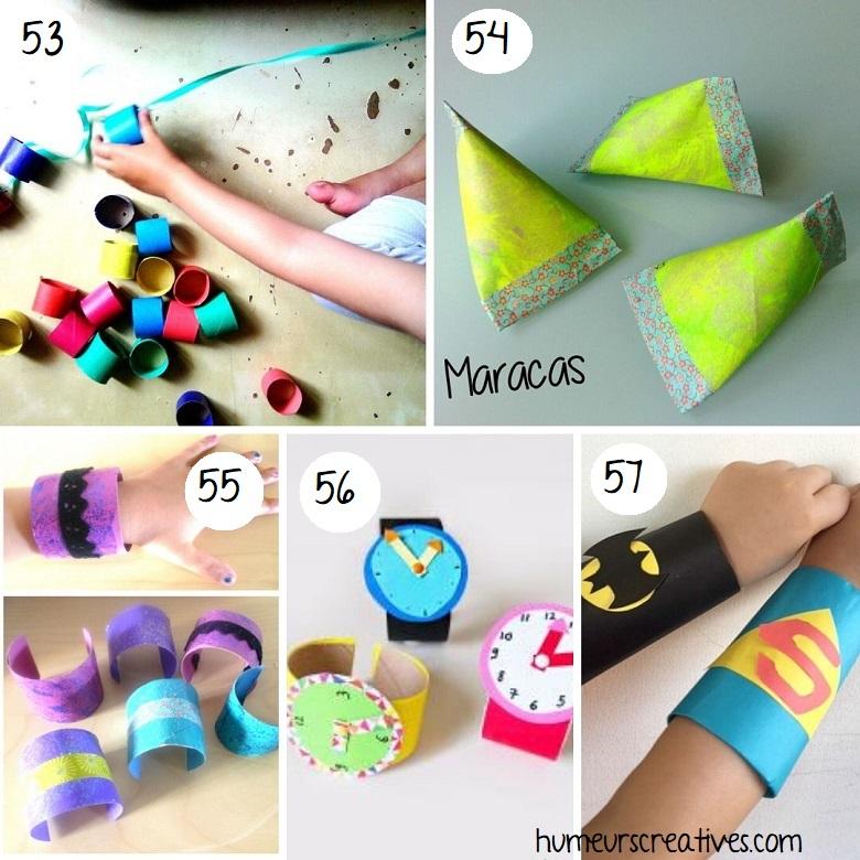 Bricolage pour enfants avec rouleaux de papier toilette (1)