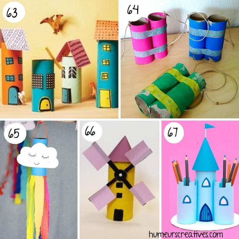 Bricolage pour enfants avec rouleaux de papier toilette (3)