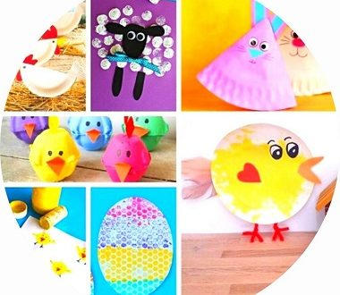 Bricolages de pâques pour les enfants