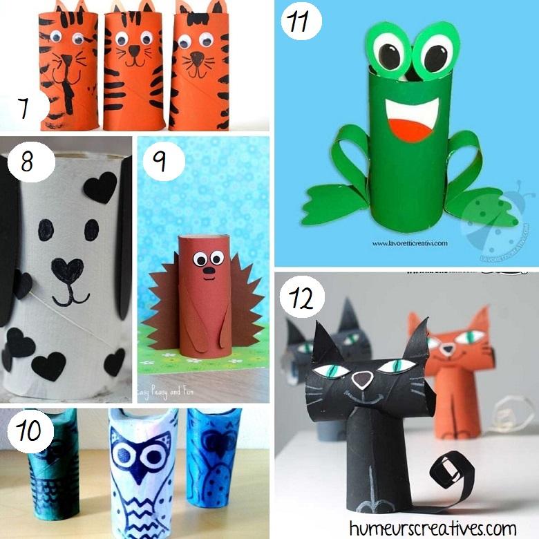 bricolage animaux en rouleaux de papier toilette (2)