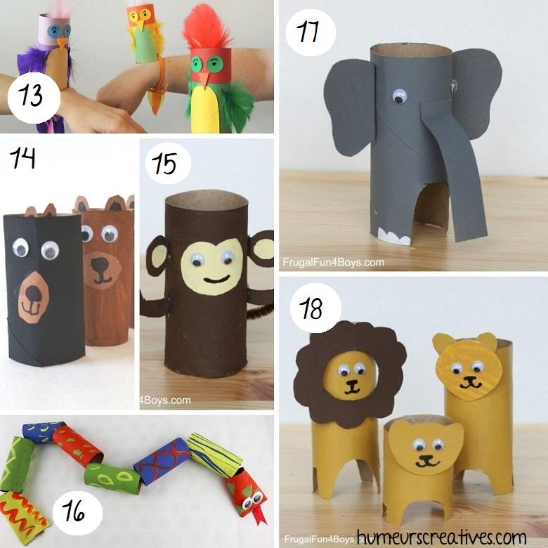 bricolage animaux en rouleaux de papier toilette (3)