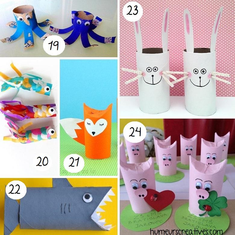 bricolage animaux en rouleaux de papier toilette (4)