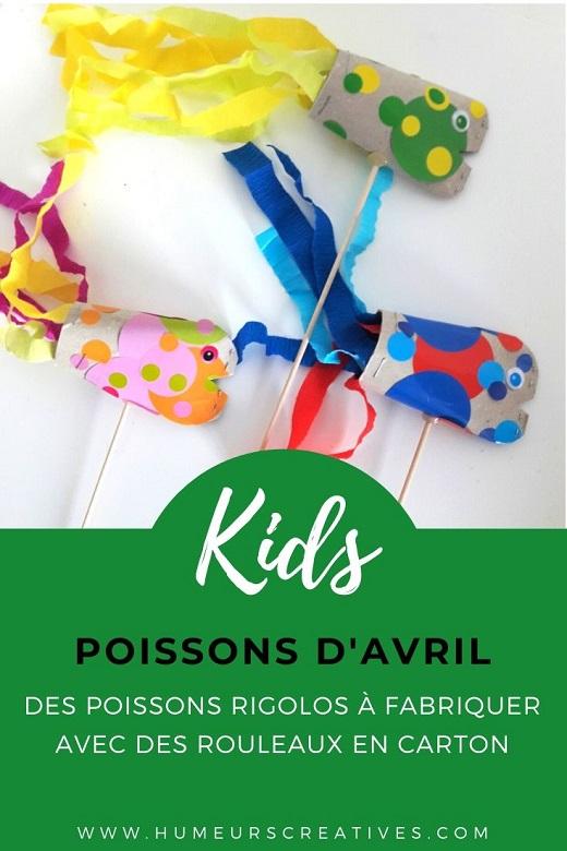 Fabriquer un poisson d'avril avec les enfants