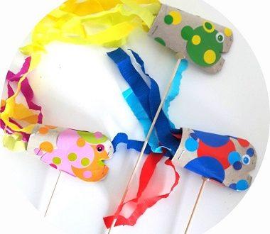 Fabriquer des poissons d'avril avec les enfants