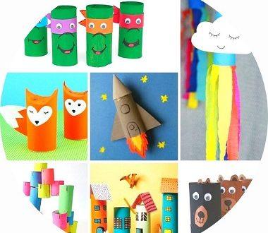 80 bricolages pour enfants à faire avec des rouleaux de papier toilette