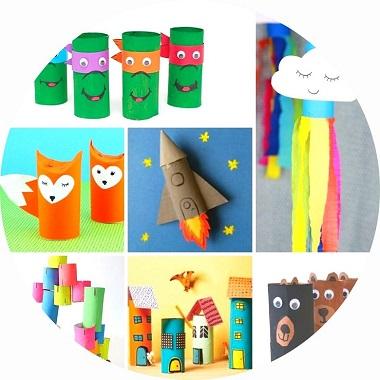 80 Bricolages Pour Enfants A Faire Avec Des Rouleaux De Papier Toilette