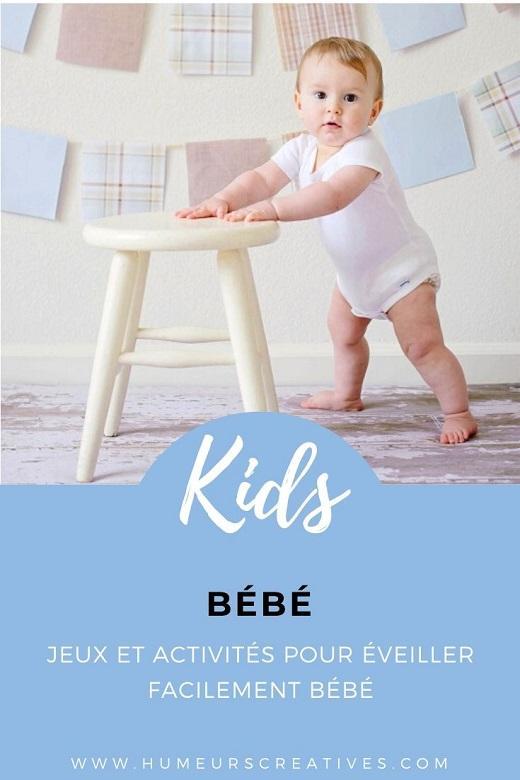 Idées de jeux et activités d'éveil pour bébé