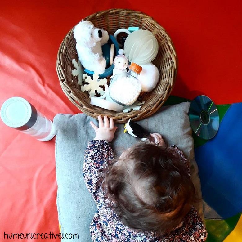 boite à trésors bébé