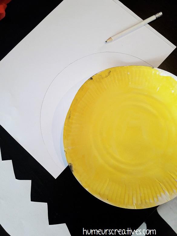 fabriquer la coquille du poussin avec du papier