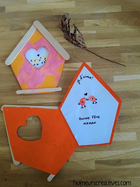 carte fete des mères - cabane à oiseaux