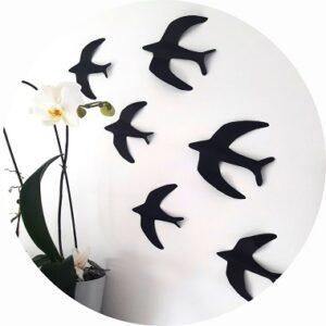 diy oiseaux en papier à découper et plier