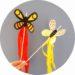 Fabriquer de jolis papillons à planter dans les pots de fleurs. Une activité manuelle pour les enfants