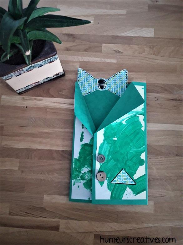 carte chemise pour la fete des papas