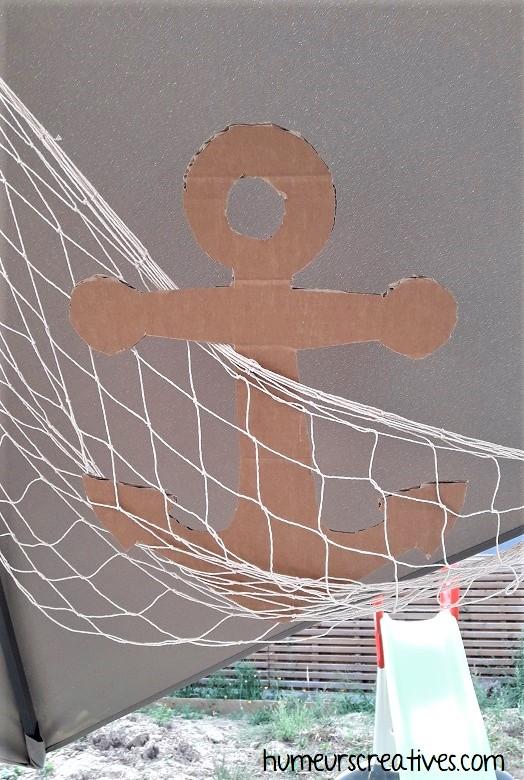 diy ancre de bateau en carton