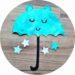 Diy enfant : un parapluie en filtre à café