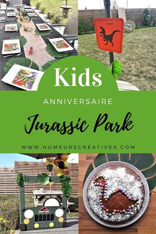 Organiser un anniversaire pour enfant sur le thème Jurassic Park (dinosaure)