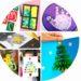 des idées de bricolages pour fabriquer des cartes de voeux avec les enfants