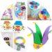 22 bricolages sur Mardi gras à fabriquer avec les enfants