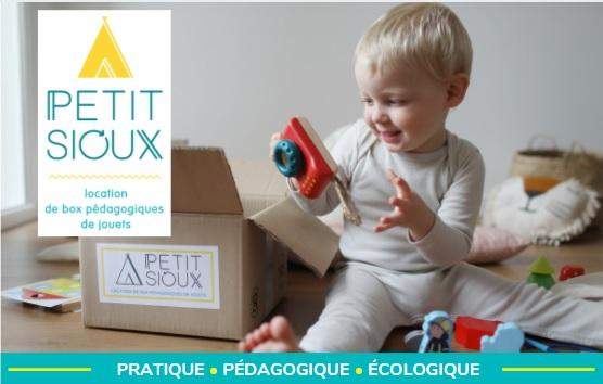 box petit sioux pour les enfants