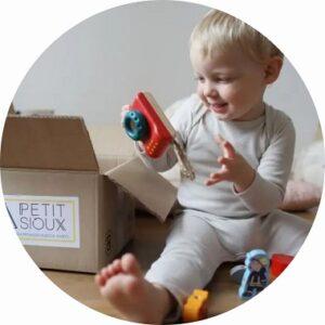 Petit sioux, box de location de jouets pour jeunes enfants