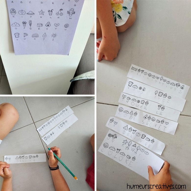 Jeu anniversaire : l'alphabet codé version Kawaii