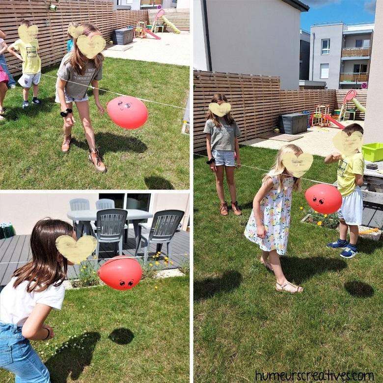 jeu anniversaire : le jeu de la fusée Kawaii