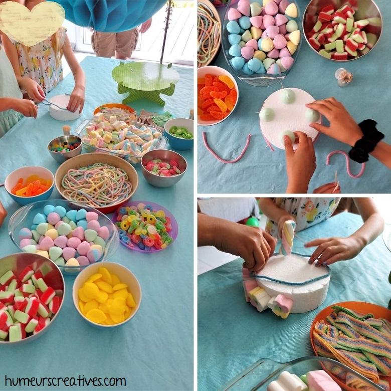 comment réaliser un gateau de bonbons