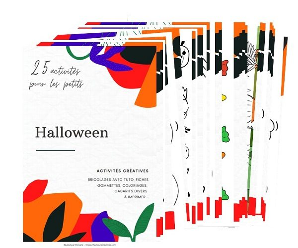 Ebook d'activités pour enfants Halloween
